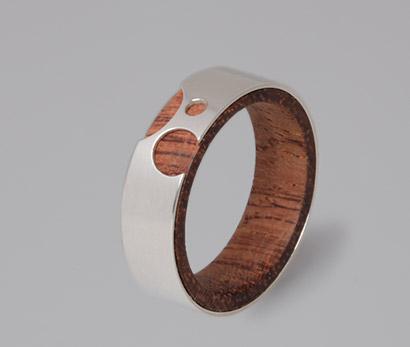 Bubinga Wood Ring